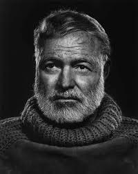 Ernest Hemingway byYousuf Karsh