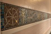 Dado mosaic